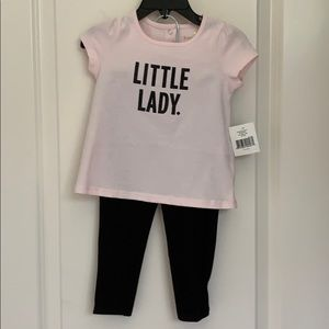NWT Kate Spade Baby Girl Little Lady Outfit